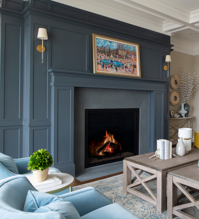 Blue Gray Fireplace Paint Color Benjamin Moore Bracken Slate Blue Grey Paint Color Benjamin Moore Bracken Slate Blue Gray Fireplace Paint Color Benjamin Moore Bracken Slate Blue Grey Paint Color Benjamin Moore Bracken Slate #BlueGray #Fireplace #PaintColor #BenjaminMooreBrackenSlate #Bluepaintcolor #GreyPaintColor #BenjaminMoore
