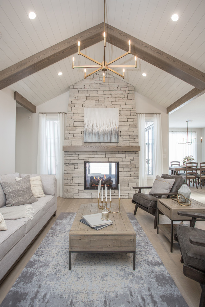 Neutral Interior Color Scheme Neutral Paint Colors Sherwin Williams Eider White on walls and Sherwin Williams Pure White on shiplap ceiling and trim #NeutralInterior #NeutralColorScheme #NeutralPaintColors #SherwinWilliamsEiderWhite #SherwinWilliamsPureWhite #shiplap #ceiling #trim #paintcolor