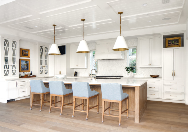 Shallow Coffered Ceiling with Tongue and Groove Kitchen Shallow Coffered Ceiling with Tongue and Groove Shallow Coffered Ceiling with Tongue and Groove Shallow Coffered Ceiling with Tongue and Groove #ShallowCofferedCeiling #TongueandGroove #kitchen #ceiling #kitchenceiling
