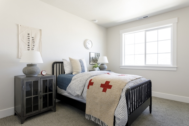 Designing a child's bedroom is not as easy as it seems Choose elements that can grow with the child and keep the color palette balanced This boy's bedroom was beautifully designed within a reasonable budget
