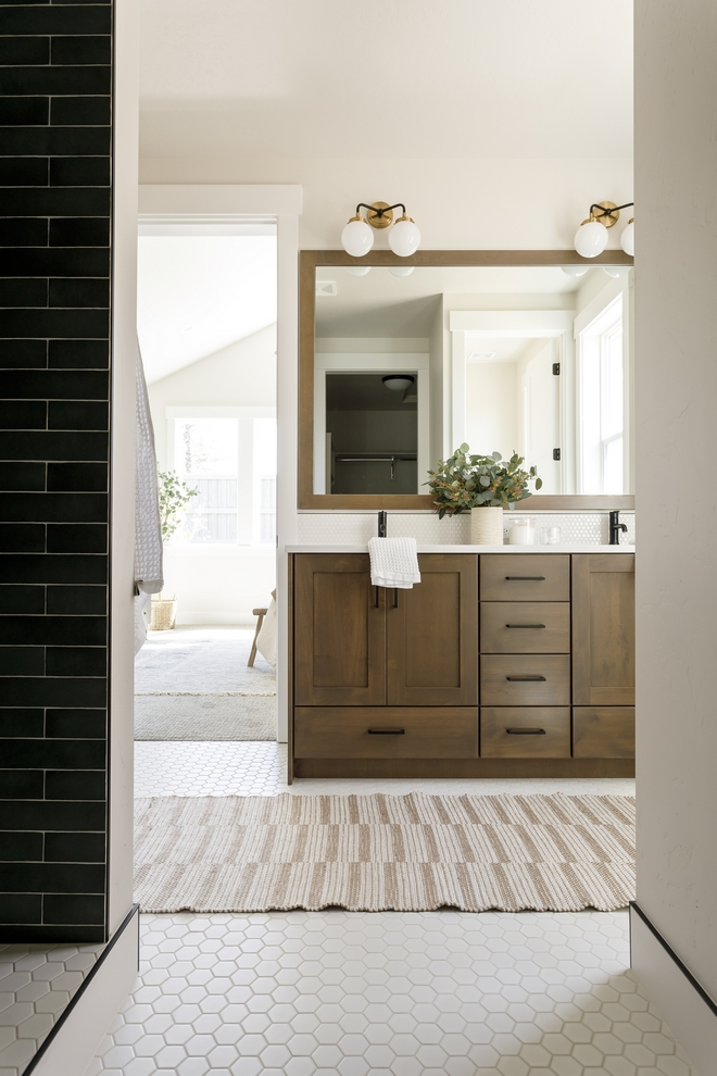 Bathroom Cabinet Stain Warm stain color for cabinets