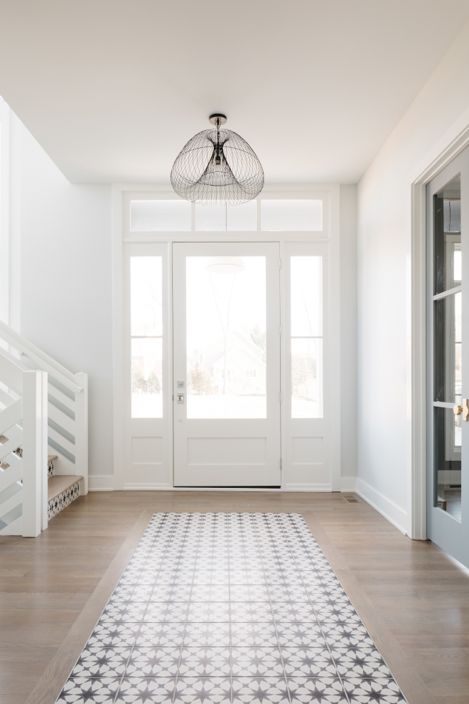 Foyer Tile Rug Ideas This unique and stunning Modern Farmhouse Foyer combines hardwood flooring with patterned porcelain tile Foyer Tile Rug Foyer Tile Rug Ideas Foyer Tile Rug Ideas Foyer Tile Rug Ideas Foyer Tile Rug Ideas Foyer Tile Rug Ideas #Foyer #TileRug #TileRugIdeas #Foyer #ModernFarmhouse