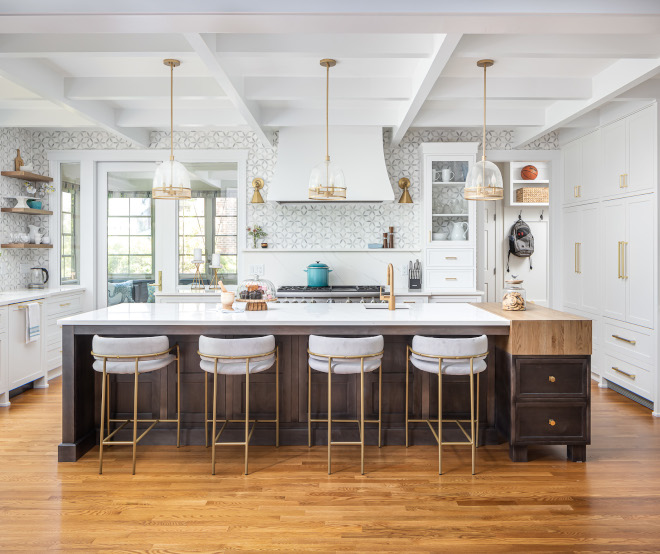 Kitchen Symmetry Kitchen Symmetry Adding glass cabinets gave us that symmetry we were looking for Kitchen Symmetry Kitchen Symmetry Kitchen Symmetry #KitchenSymmetry #kitchen