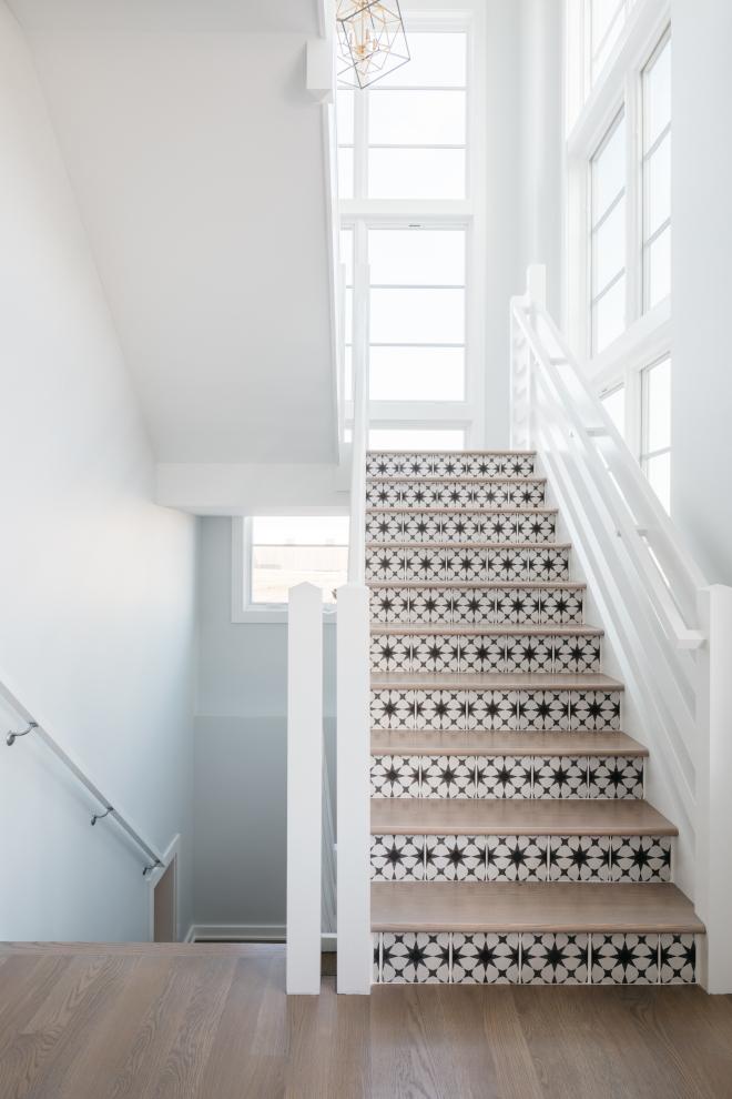 Staircase trendy vertical railings and tiled risers Staircase trendy vertical railings and tiled risers Staircase trendy vertical railings and tiled risers Staircase trendy vertical railings and tiled risers #Staircase #trendystaircase #verticalrailing #tiledrisers
