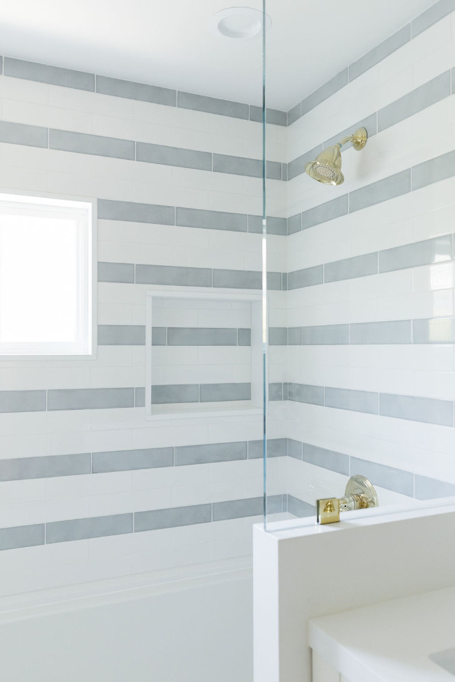 White-and-grey-striped-shower-tile-White-and-grey-striped-large-subway-tile-in-shower