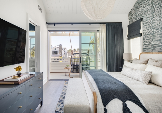 Master Bedroom comes with its own balcony and a welcoming swing