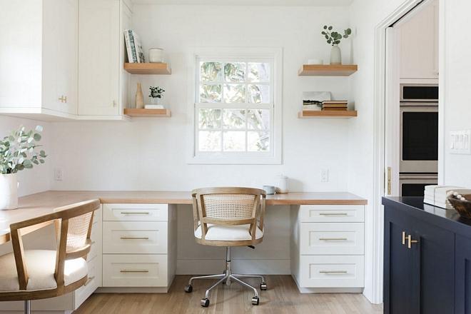 Benjamin-Moore-Simply-White-Cabinet-Rift-Cut-White-Oak-Butcher-Block-Countertop