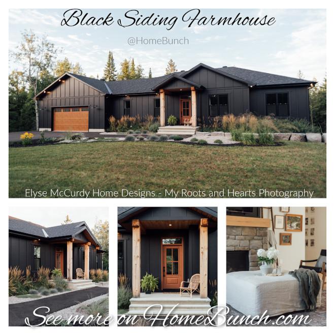 Black Siding Farmhouse