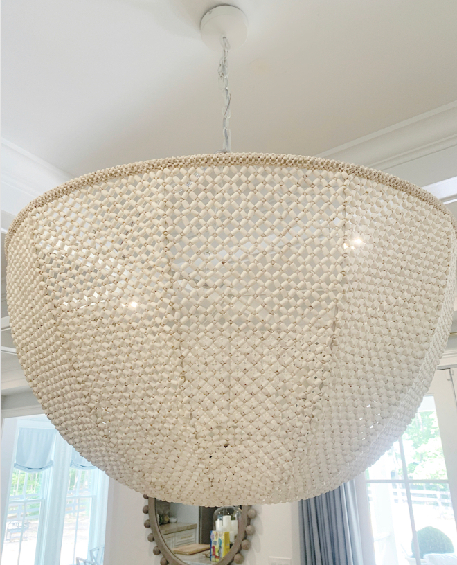 Canopy beaded chandelier This canopy beaded chandelier and it's so much more beautiful in person than I expected #Canopybeadedchandelier #beadedchandelier