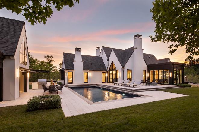Modern-Farmhouse-Sunset-Pool