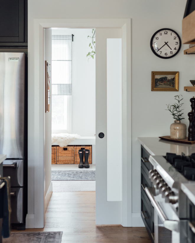 Mudroom is conveniently located just off the Kitchen which makes things much easier when you arrive with groceries
