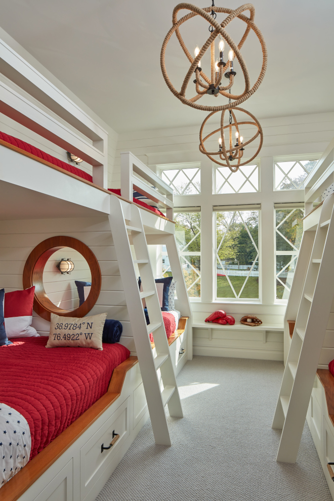 Nautical Bunk Room Bunk Room Design Nautical Bunk Room Bunk Room Design The children's bunk room features boat-themed furnishings and beds complete with portholes Nautical Bunk Room Bunk Room Design Nautical Bunk Room Bunk Room Design Nautical Bunk Room Bunk Room Design #NauticalBunkRoom #BunkRoom #BunkRoomDesign