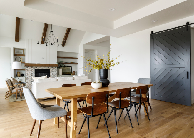 Open floor plan This view towards the Great Room highlights the well-designed open floor plan for this newly-built home The open floor plan allows easy flow and a connection between all spaces #Openfloorplan #floorplan #GreatRoom #newlybuilthome #floorplanflow