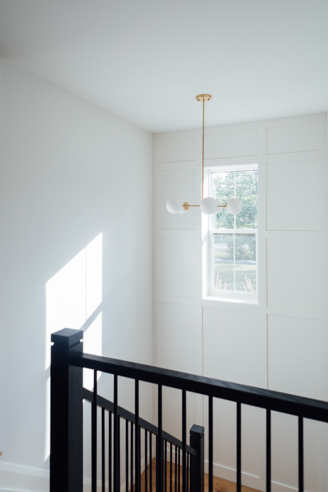 Staircase Window The stairs are a focal point in our open concept living space Having a window in the staircase lets in a ton of natural light both into the main floor but also into the basement Staircase Window Staircase Window #Staircase #Window