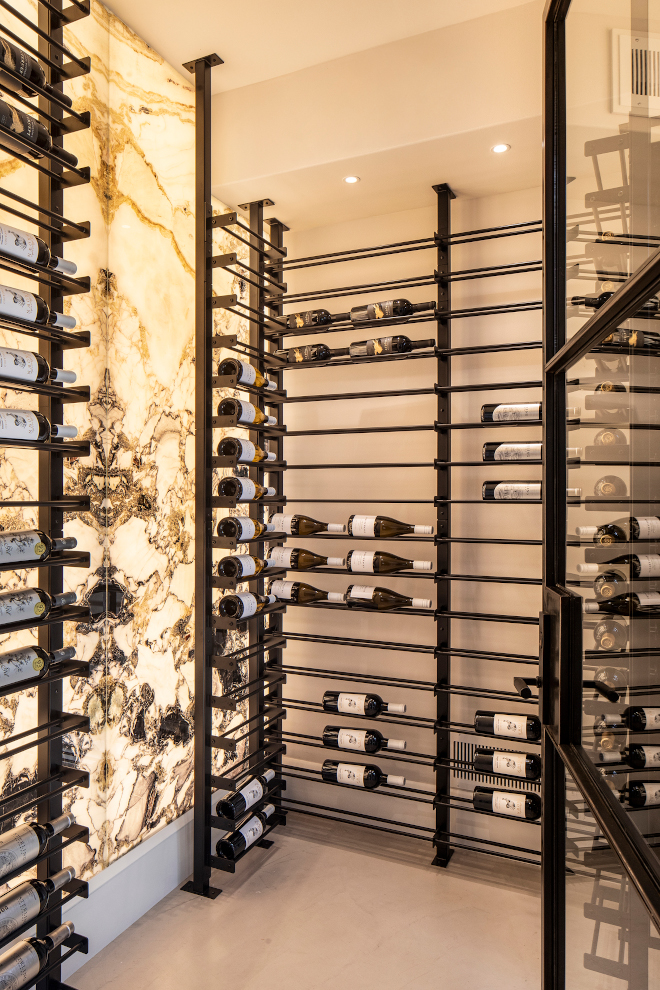 Wine Room Walls with Sicis gem glass Backlit Sicis gem glass from Italy showcases the conditioned wine room Wine Room Walls with Sicis gem glass Backlit Sicis gem glass Wine Room Walls with Sicis gem glass Backlit Sicis gem glass #WineRoom #WineRoomWalls #Sicisgemglass #Backlitglass