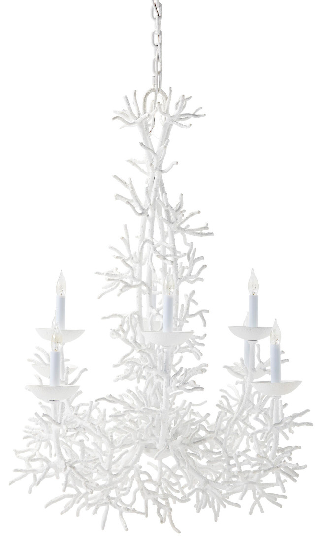 Serena and Lily Coral Chandelier