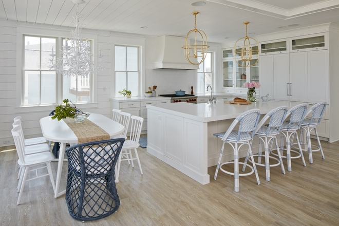 Coastal Interiors with Serena and Lily Coral Chandelier