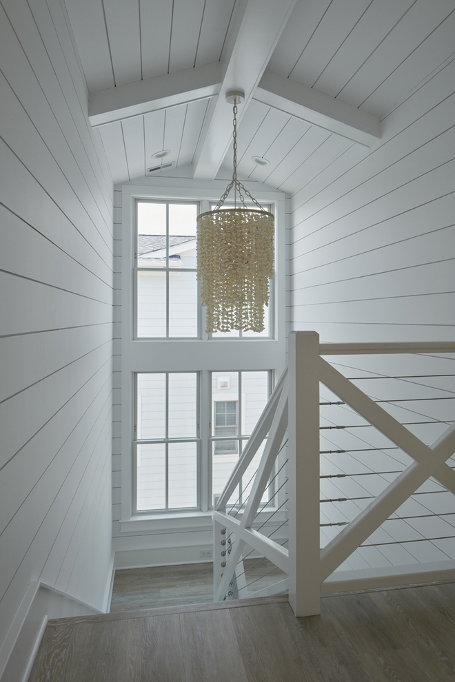 Serena and Lily Aptos Shell Chandelier