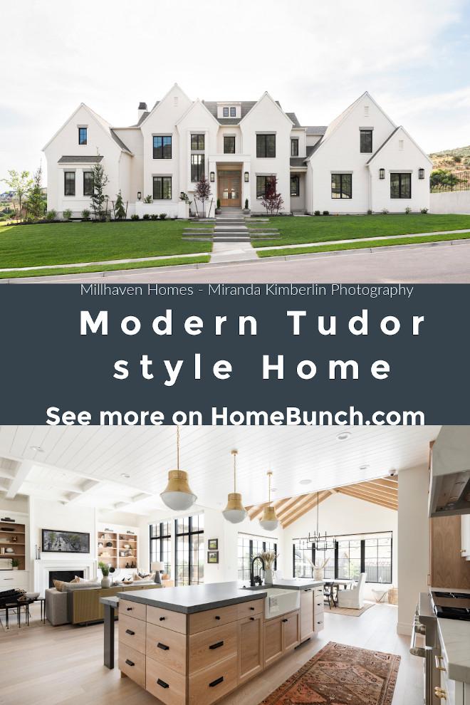 Modern Tudor style Home