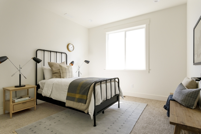Boys Bedroom Design This boy's bedroom is fun without being over-the-top I love this Industrial Farmhouse vibe #BoysBedroom #BoysBedroomDesign #IndustrialFarmhouse