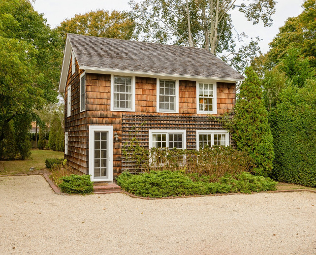 Shingle Cottage. Adorable Shingle Southampton Cottage. #Cottage #Southampton