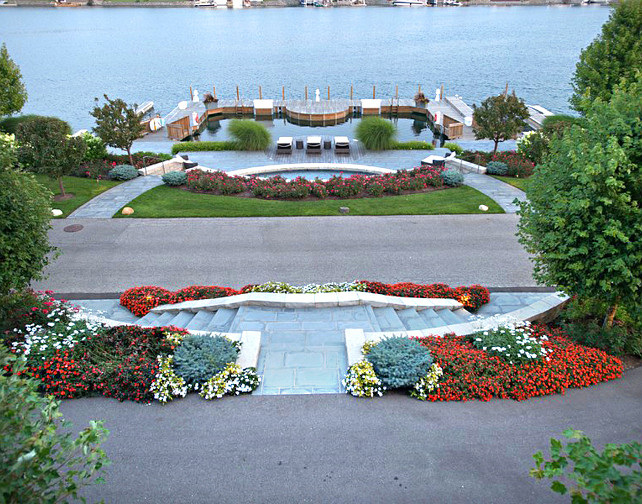 Gardens. Beautiful landscaping and garden ideas. #Gardens #Landscaping