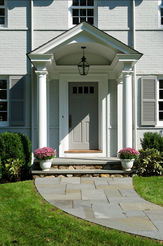 Traditional colonial home home bunch interior design ideas for Front doors for colonial homes