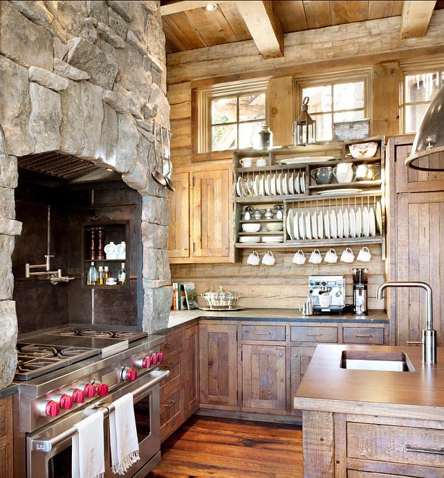 Vintage Rustic Kitchen Cabinets: Home Bunch Interior Design Ideas