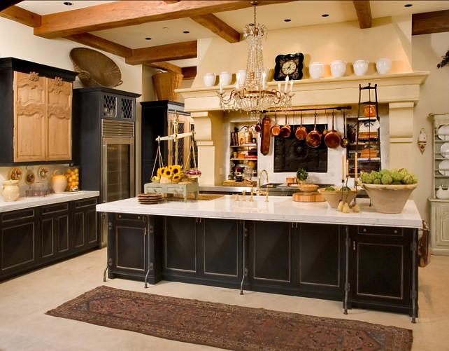 Interior design ideas kitchen home bunch interior for Beautiful dark kitchens