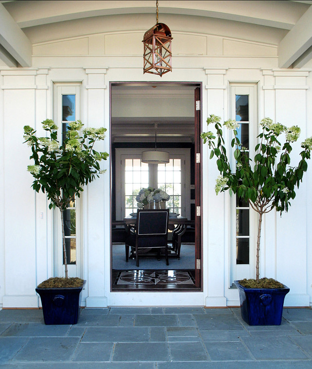 Front Door Ideas. Beautiful Front Door Decor! #FrontDoo #Front Entry #HomeDecor