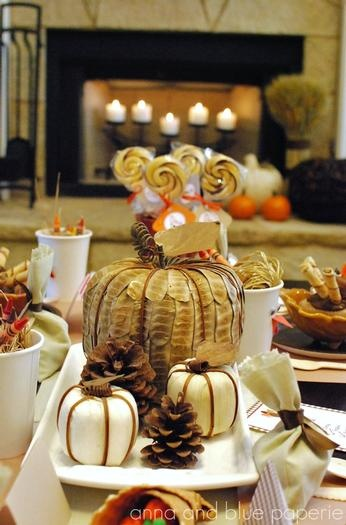 Decorating Ideas For Rentals: Thanksgiving Decorating Ideas