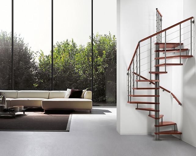 Spiral Modular Staircase. #ModularStaircase