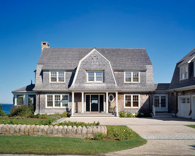 Elegant coastal family home home bunch interior design ideas for Shaker style house plans