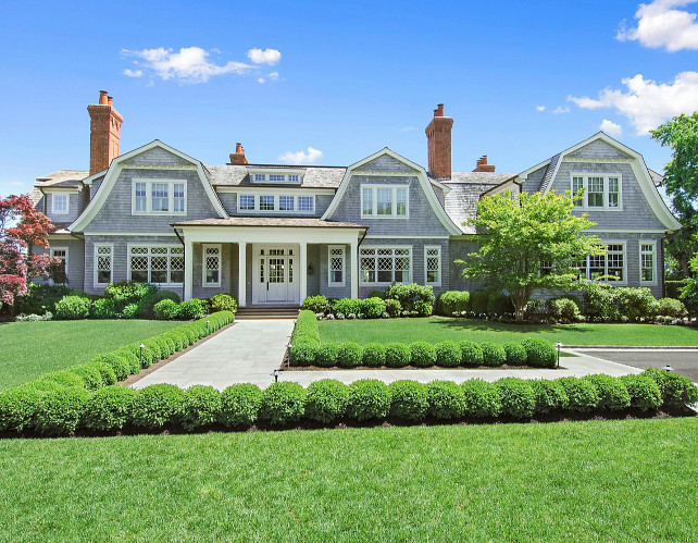 Traditional Shingled Home. take a good look at this traditional shingled home and tell me if you would pay the $11,900,000 asking price for it. #TraditionalHome #ShingledHome #HousesforSale #Hamptons #RealEstate