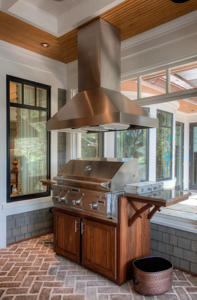 Beautiful architecture and interiors home bunch interior for Outdoor kitchen grill hood