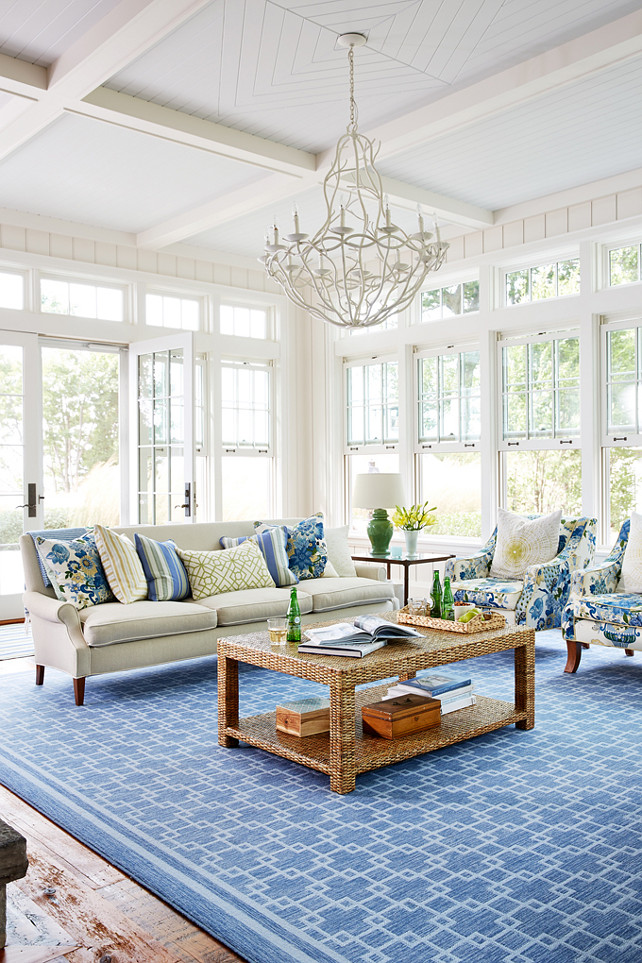 House Drawing Room Designs: Sarah Richardson's Coastal Cottage