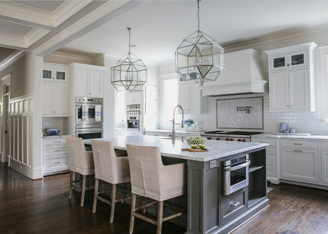 White And Gray Kitchen Designed By Jackbilt Homes Home