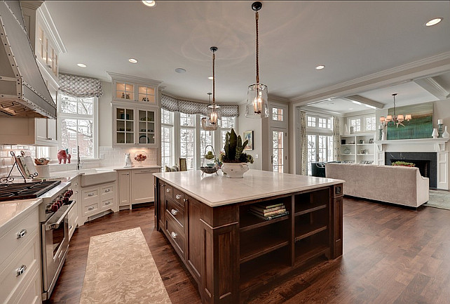 Open Concept Kitchen Family Room Design Ideas ~ Trendy family home bunch interior design ideas