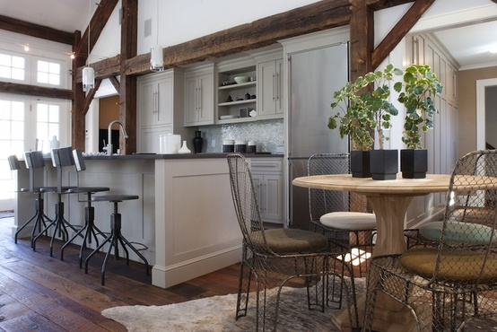 In An Ordinary Home You Can Accomplish Open Plan Living By Removing Internal Walls Between The Kitchen And Dining Room