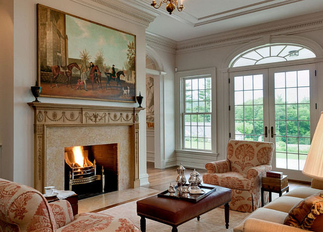 Traditional Fireplace