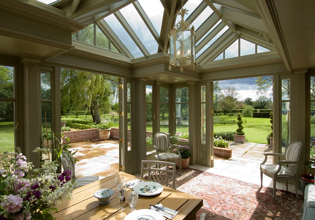 Make Use Of Your Conservatory All Year Round Home Bunch