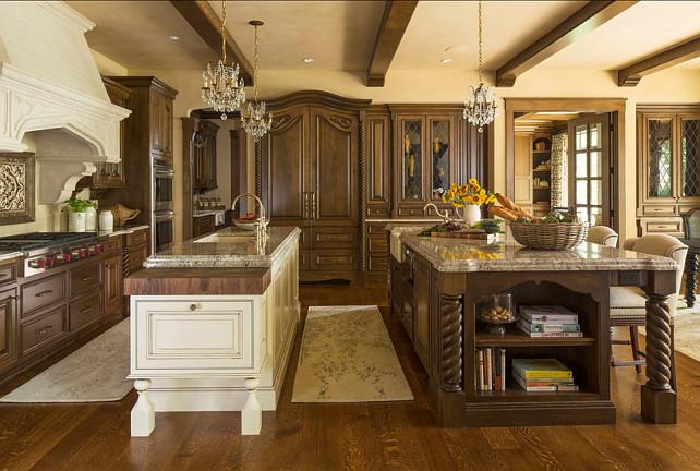 Kitchen design ideas home bunch interior design ideas for Luxury french kitchen