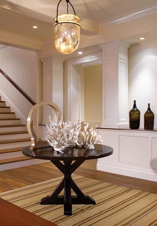 Coastal Foyer Lighting : Shingled cape cod beach house home bunch interior design
