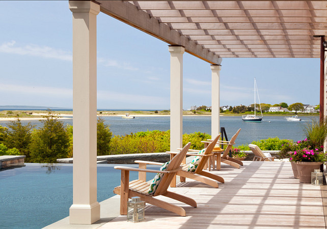 Patio. Great Coastal Patio Decorating Ideas. #Patio #PatioDecor #Coastal