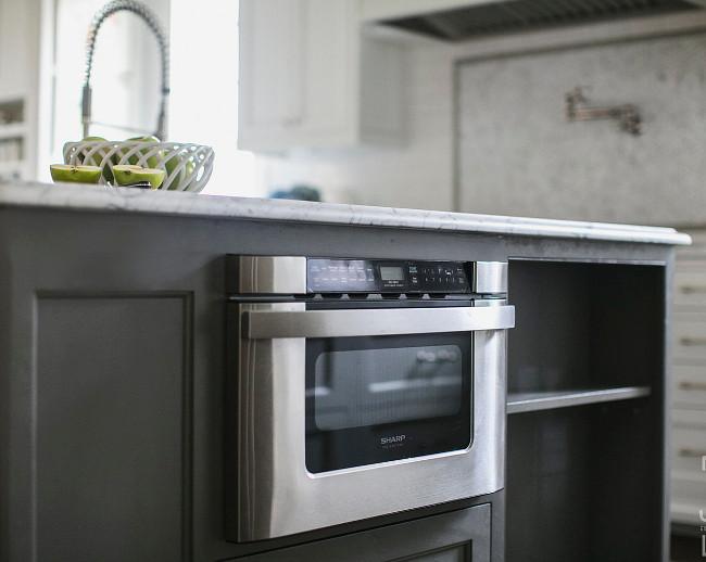 White and Gray Kitchen Designed by JackBilt Homes. - Home ...