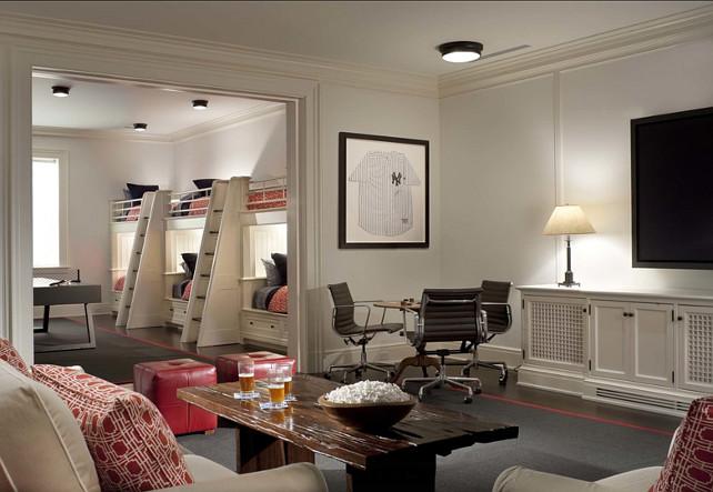 Media Room. Great basement media room design ideas. #MediaRoom #basement