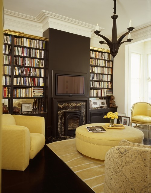 Library Room Ideas For Small Spaces: Home Bunch Interior Design Ideas