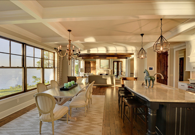 Lake Home With Beautiful Interiors Home Bunch Interior