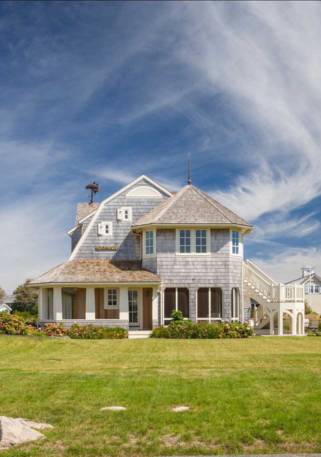 Shingle Homes. Inspiring Shingle Homes. #Shingle #Home #BeachHouse
