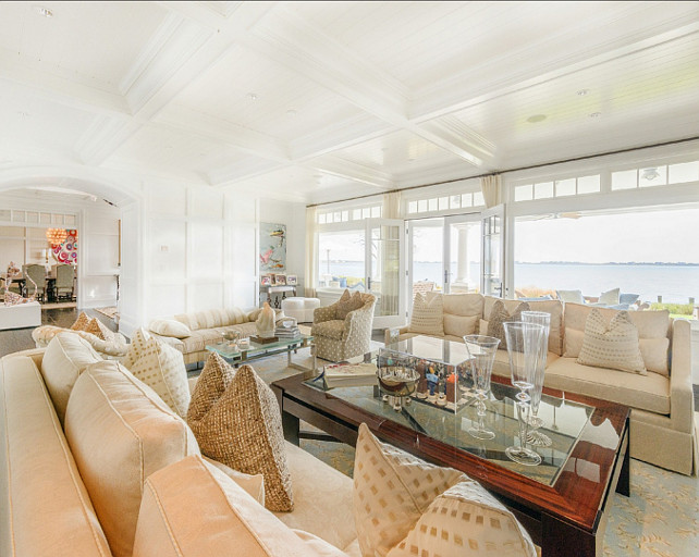 Interiors. Beautiful Coastal Interiors. #Coastal #Interiors #Nautical #HomeDecor
